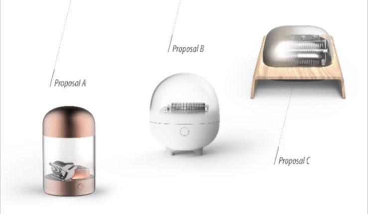 3 design proposals of Muro Box provided by the design studio in 2017