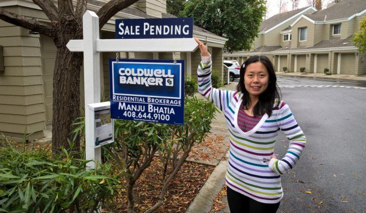 We sold our first and only home in San Jose, CA.