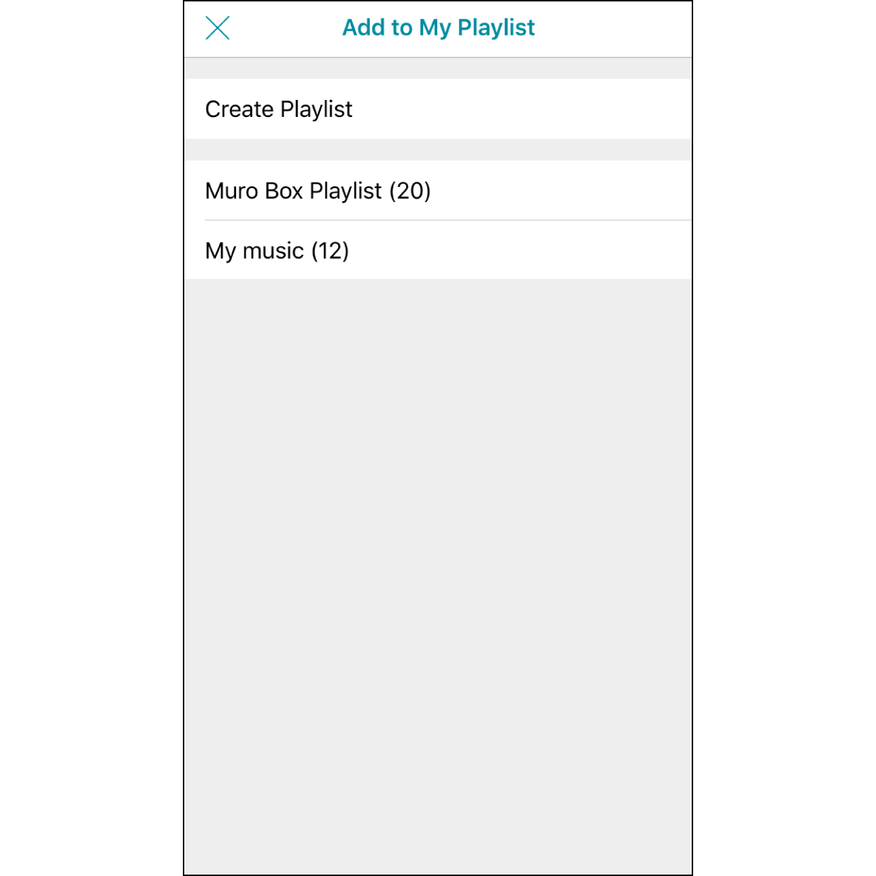 5. Select a PlaylistSelect the playlist that you want to add a melody (or create a playlist here).