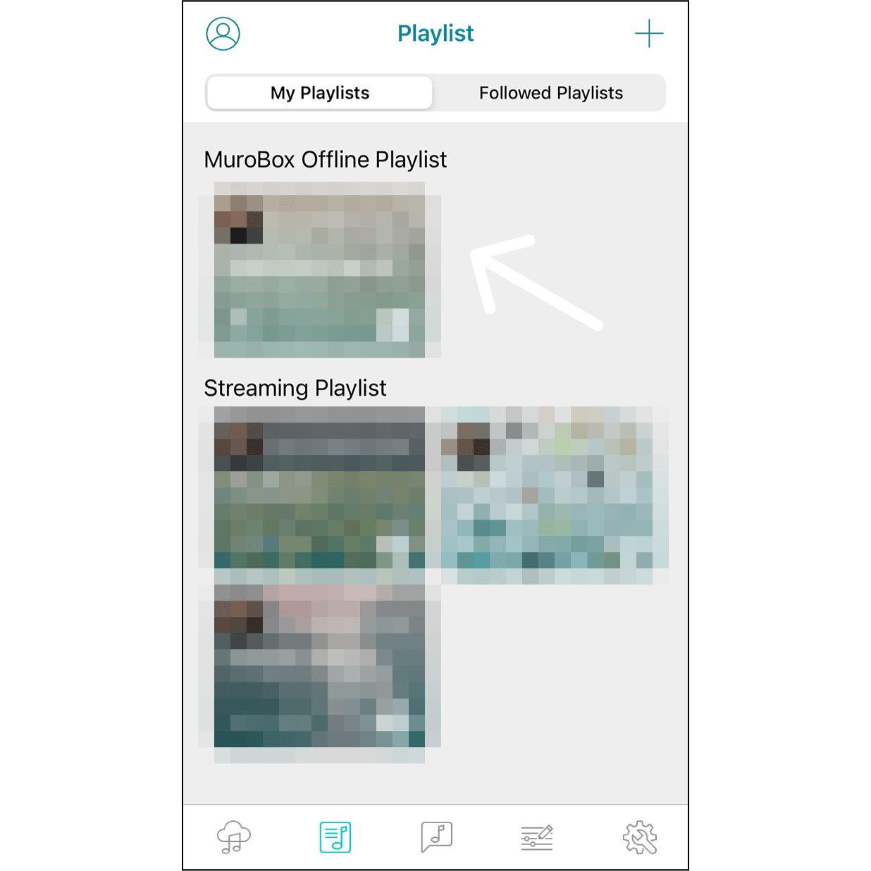 The Default Offline PlaylistThe Muro Box official provided a free playlist as your default offline playlist when the Muro Box is shipped to you.